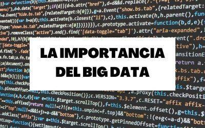 ¿Por qué es tan importante el Big Data?